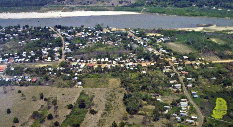 Boca do Acre tem apenas 33 mil habitantes, segundo dados do IBGE (Foto: Instituto Amazônia/Divulgação)