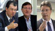 Eduardo Braga, José Ricardo e Luiz Castro