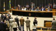 Denúncia contra Temer já foi lida no plenário da Câmara dos Deputados (Foto: Antonio Cruz/ABr)