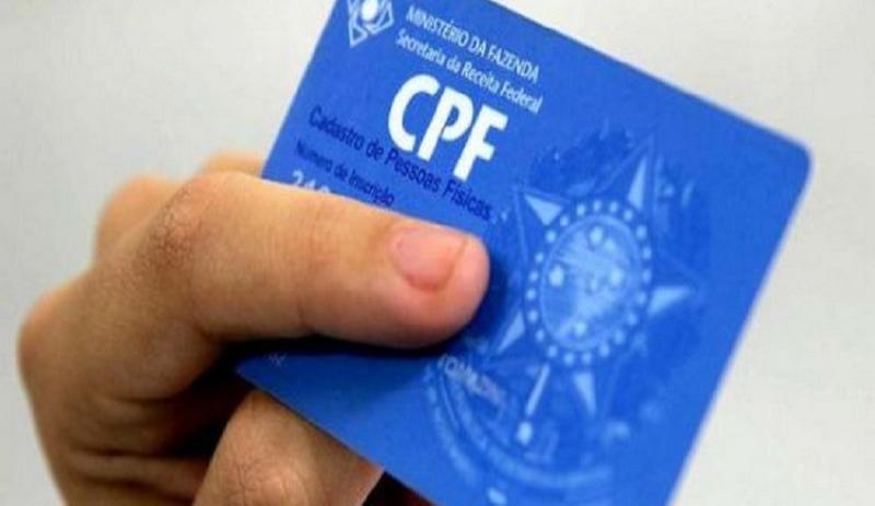 CPF deverá ser documento único para acesso no serviço público