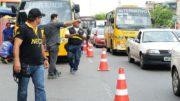 Inspeção técnica atinge especificamente ônibus, caminhões e carretas (Foto: Roberto Carlos/Secom)