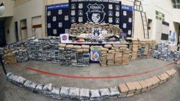 Carregamento de drogas apreendidas em Beruri foi avaliado em R$ 7 milhões Foto: SSP-AM/Divulgação)
