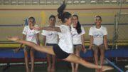 Aulas de ginástica são para crianças na faixa etária dos 5 aos 9 anos (Foto: Sejel/Divulgação)