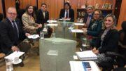 Comissão da Ufam se reuniu com o ministro Mendonça Filho no MEC (Foto: Divulgação)