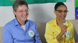 Luiz Castro e Marina Silva