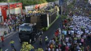 Marcha para Jesus sairá do Centro até o sambódromo na tarde deste sábado (Foto: Ingrid Anne/Manauscult)