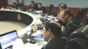 Plenário do TCE julgou contas na sessão desta terça-feira (Foto Ana Cláudia Jatahy/TCE)