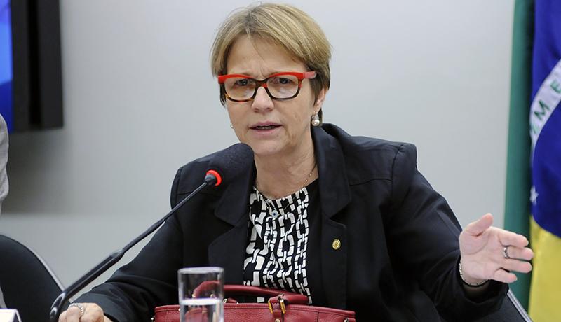 Deputada Tereza Cristina admitiu que negocia migração de colegas de legenda com outros partidos (Foto: Lucio Bernardo Jr./Agência Câmara)