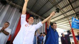 Marcelo Ramos e Eduardo Braga