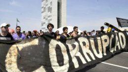 manifestação contra a corrupção