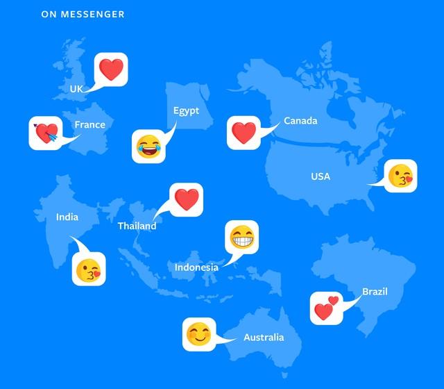 Todos os dias são partilhados mais de 60 milhões de emojis — Facebook