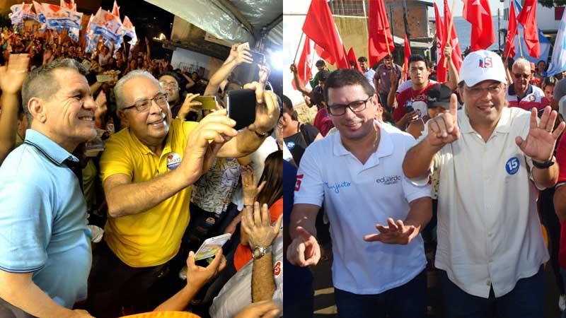 candidatos a governador e vice