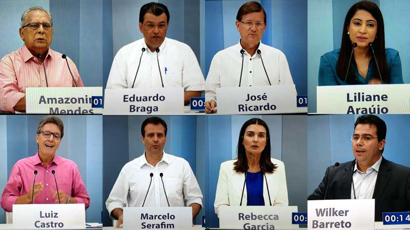 Amazonino Mendes (PDT) e Eduardo Braga (PMDB) farão 2º turno no AM