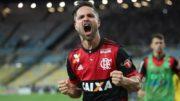 Diego marcou o gol do triunfo sobre o Botafogo e da classificação à final da Copa do Brasil (Foto: Gilvan de Souza/Flamengo)