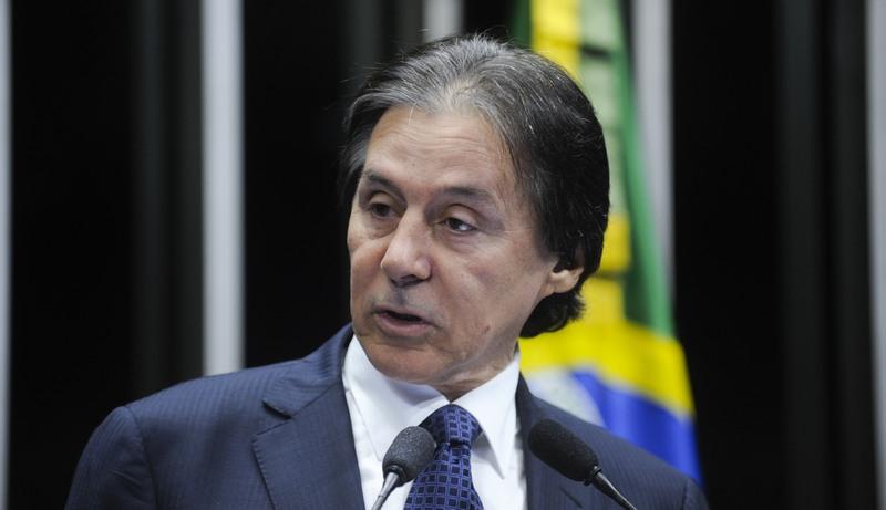 Eunício Oliveira diz que posicionamento do STF não influenciará decisão do Congresso (Foto: Marcos Oliveira/Agência Senado)
