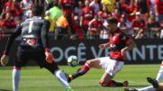 Flamengo caiu diante do Vitória-BA e aumentou crise no clube no Brasileirão (Foto: Gilvan de Souza/Flamengo.com)
