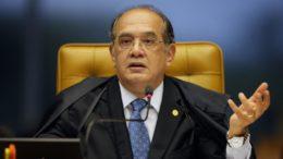 Gilmar Mendes diz que sem doação empresarial, sistema eleitoral ficou com 'pé quebrado' (Foto: STF/Divulgação)