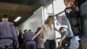 Não foi permitido fazer imagens dos réus e público passou por revista na entrada do fórum (Foto: TJAM/Divulgação)