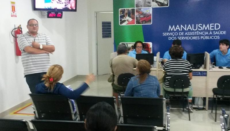 Serviços do Manausmed passam a ser geridos pela Secretaria de Administração (Foto: Semcom/Divulgação)
