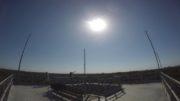 Torre de observação do Musa permite visual único de eclipse (Foto: Musa/Divulgação)