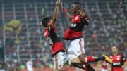 Vinícius Júnior (à direita) brilhou em vitória do Flamengo pelo Brasileirão (Gilvan de Souza/Flamengo)