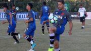 Time do Vasco treina para tentar vencer o Cruzeiro em jogo nesta quinta-feira, no Rio (Foto: Paulo Fernandes/Vasco.com)