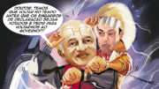 charge Melo e Henrique