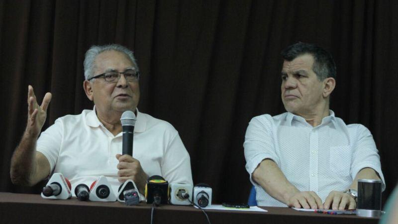 Amazonino Mendes e Bosco Saraiva