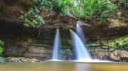 Cachoeira em Presidente Figueiredo, um dos municípios com potencial turístico no Mapa do Turismo (Foto: Embratur/Divulgação)