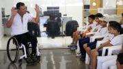 Professor em escola do Distrito Federal: inclusão no mercado de trabalho (Foto: Antonio Cruz/ABr)