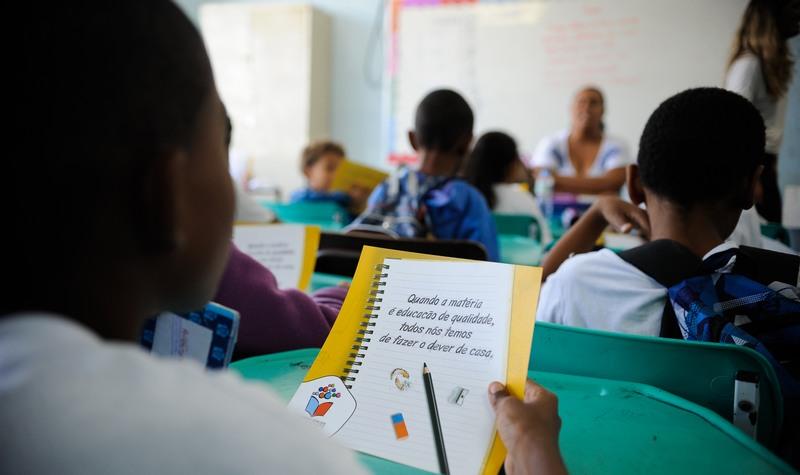 Ensino fundamental tem menor custo por aluno que o superior no Brasil, diz OCDE (Foto: Tânia Rêgo/ABr)
