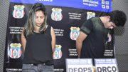Elcilane e Alexandre estão presos por assassinato de empresário (Foto: Erlon Rodrigues/PC-AM)