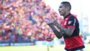 Paolo Guerrero marcou um dos gols do Flamengo na vitória sobre o Sport Recife (Foto: Gilvan de Souza/Flamengo)