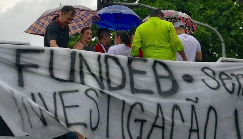 Professores pediram investigação sobre repasses do dinheiro do Fundeb (Foto: Divulgação)