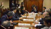 Parlamentares do AM e ministro Mauricio Quintella