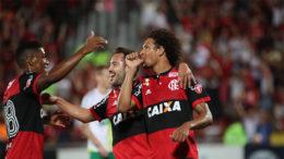 William Arão marcou um dos quatro gols da vitória do Flamengo (Foto: Gilvan de Souza/Flamengo.com)