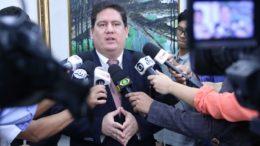 Presidente do TCE, Ari Moutinho Júnior disse que faltou responsabilidade a funcionários com sistema de informática (Foto: Ana Cláudia Jatahy/TCE)