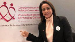 Primeira dama de Manaus Elisabeth Valeiko será homenageada com a Medalha de Ouro Cidade de Manaus (Foto: Divulgação)