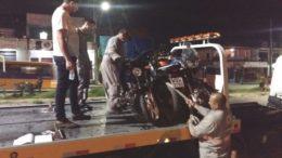 Motos foram apreendidas em blitz por diversas irregularidades dos veículos e condutores (Foto: Detran-AM/Divulgação)