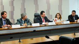 Representantes da WWF e da Embrapa disseram que adoção de agricultura de baixo carbono pelo País teve resultado positivo (Foto: Geraldo Magela/Agência Senado)