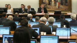 Comissão de Constituição e Justiça se reúne para leitura de denúncia contra o presidente Temer (Antonio Cruz/ABr)