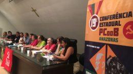 Em evento regional, PCdoB declara apoio a David Almeida na disputa ao governo do Estado em 2018 (Foto: ATUAL)