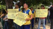Trabalhadores dos Correios em greve decidem nesta sexta se voltam ou não ao trabalho (Foto: ATUAL)