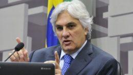 Delcídio do Amaral foi preso em flagrante sob acusação de obstrução de justiça (Foto: Geraldo Magela/A Senado)