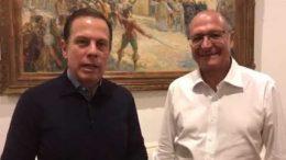 João Doria e Geraldo alckmin buscam alianças no Congresso para concorrer à Presidência (Foto: YouTube/Reprodução)