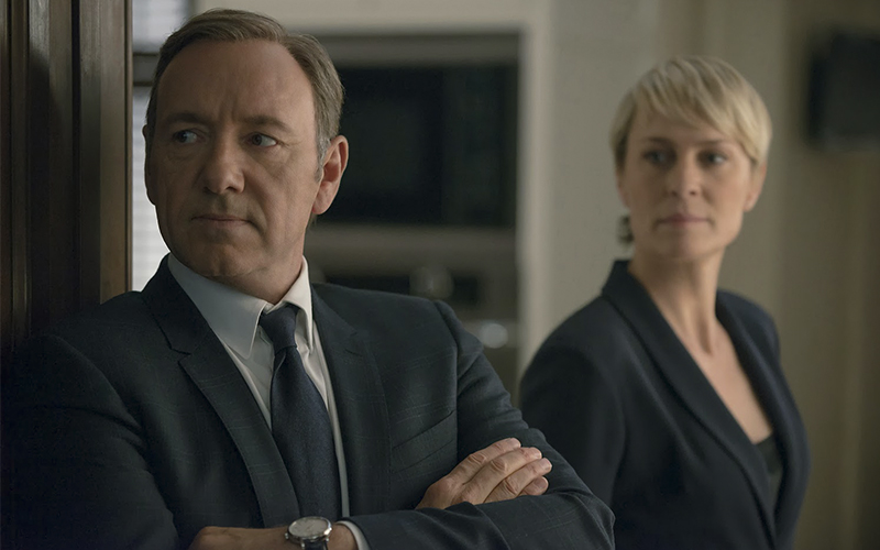 House Of Cards irá continuar sem Kevin Spacey para última temporada