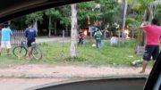 Revolta de garimpeiros resultou em incêndios nas sedes do Ibama e ICMBio em Humaitá, na sexta-feira, 27 (Foto: Divulgação)