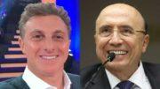 Luciano Huck e Henrique Meirelles