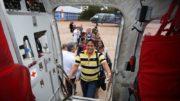 Médicos embarcaram para os Estados para mais uma etapa do programa (Foto: Erasmo Salomão/MS)