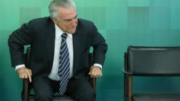 Michel Temer foi submetido a uma cirurgia para desobstrução da uretra (Foto: Lula Marques)